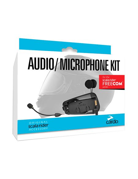 Kit cardo audio/micro freecom 1,2,4 - 04607125426#KIT.AUDIO.CARDO(1)